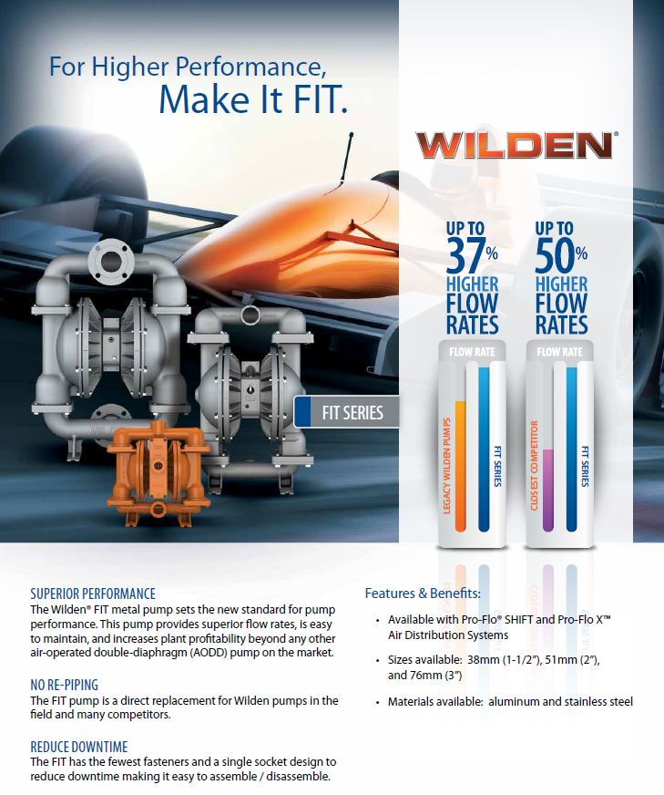 Wilden pumps South Africa